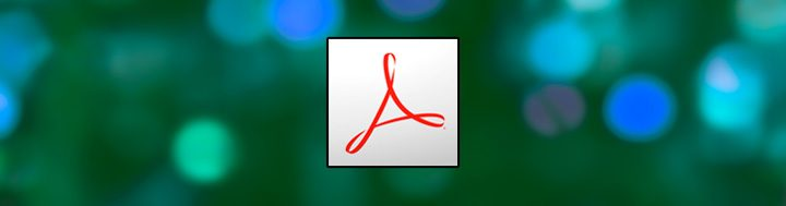 Korektúry v Adobe Reader