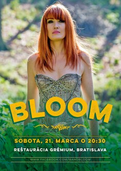 Koncertný poster<br>BLOOM