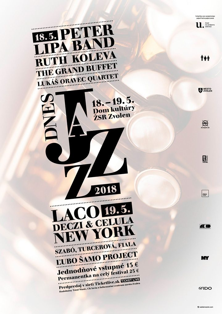 Poster <br>&#8220;Dnes Jazz 2018&#8221;