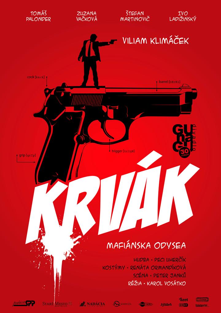 Poster<br> GUnaGU &#8220;Krvák&#8221;