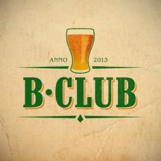 """Logotyp """"B-Club"""""""