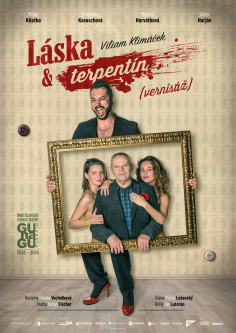 Poster <br>GUnaGU <br>&#8220;Láska a terpentín&#8221;