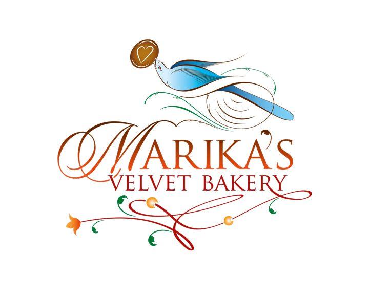 "Logotyp ""Marika's Velvet Bakery"""