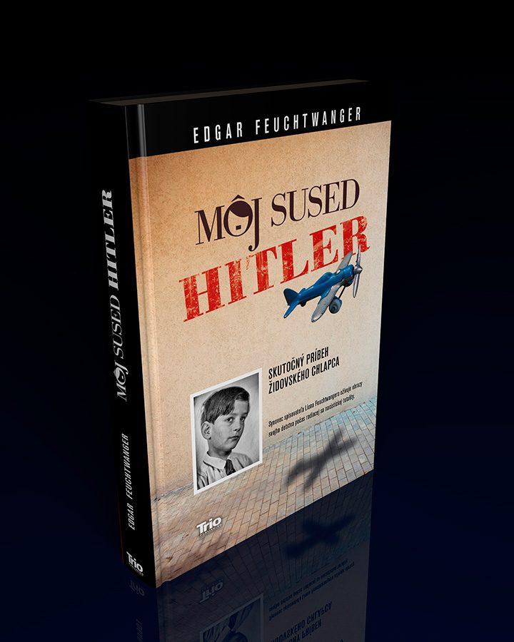 &#8220;Môj sused Hitler&#8221;<br>Návrh prebalu knihy