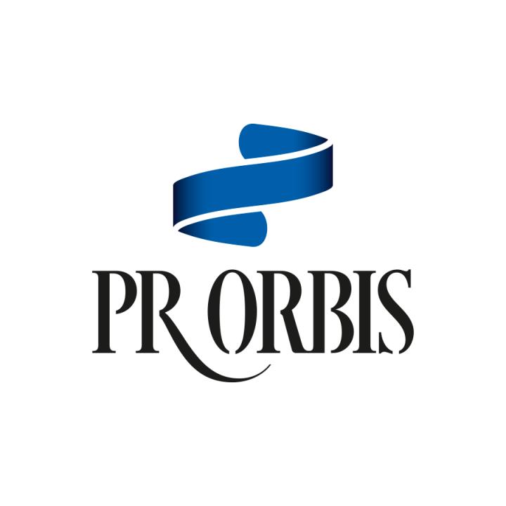 "Logotyp<br>""PR Orbis"""