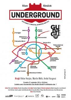 Poster<br>GUnaGU &#8220;Underground&#8221;
