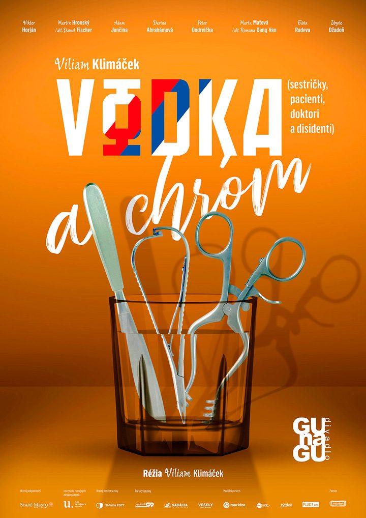 Poster <br>GUnaGU <br>&#8220;Vodka a chróm&#8221;