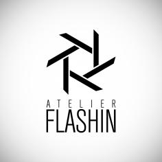 Logotyp <br>&#8220;Ateliér Flashin&#8221;