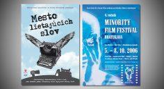 Poster k filmu &#8220;Mesto lietajúcich slov&#8221;<br>&#038; &#8220;4. Minority Film Festival&#8221;