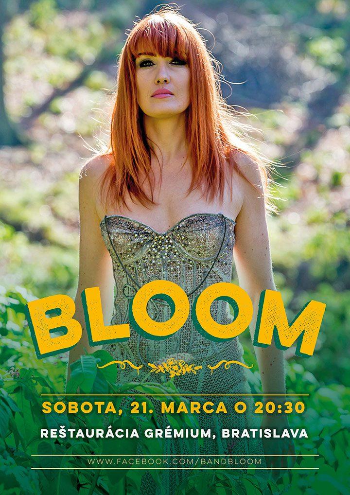 Koncertný poster<br>BLOOM