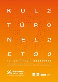 Poster<br>Kultúrne leto 2020