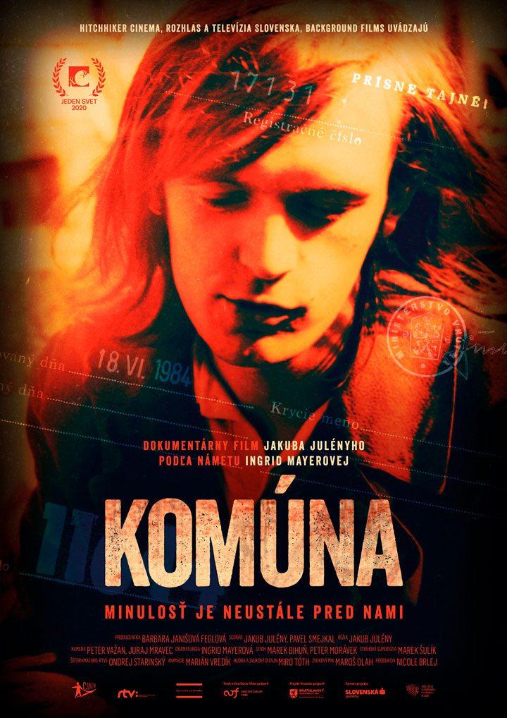 "Poster<br>""Komúna"""