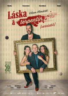 """Poster <br>GUnaGU <br>""""Láska a terpentín"""""""