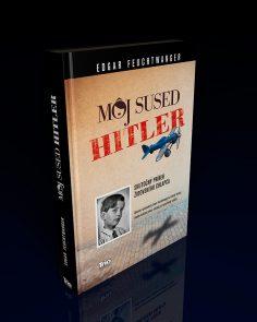 """""""Môj sused Hitler""""<br>Návrh prebalu knihy"""