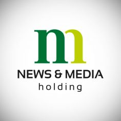 "Logotyp <br>""News & Media Holding"""