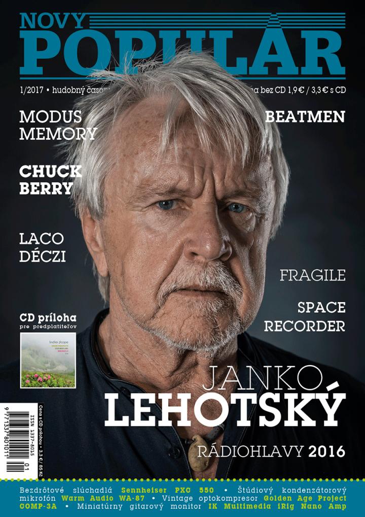 """Foto & design obálky časopisu """"Nový Populár"""""""
