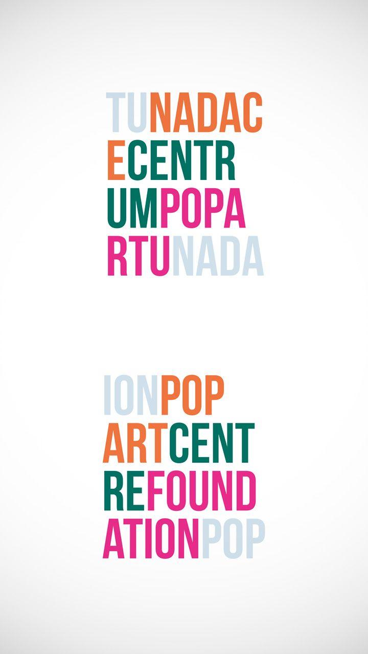 """Logotyp<br>""""Nadace Centrum Popartu""""<br>(nerealizované)"""