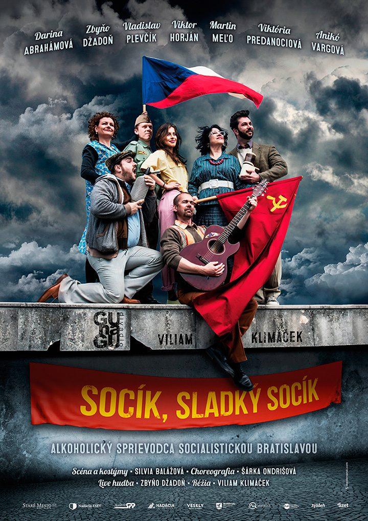 """Poster <br>GUnaGU <br>""""Socík, sladký socík"""""""