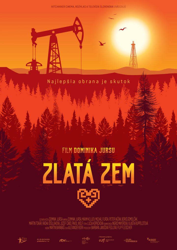 """Poster k filmu <br>""""Zlatá zem"""""""