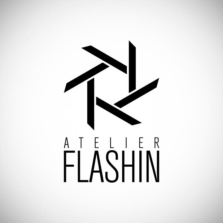 """Logotyp <br>""""Ateliér Flashin"""""""