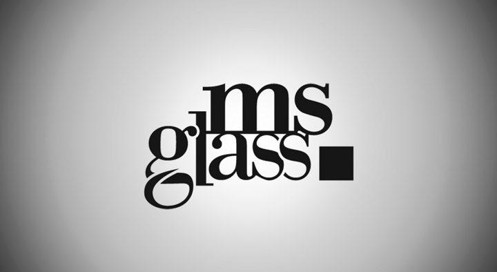 """Logotyp """"ms glass"""""""