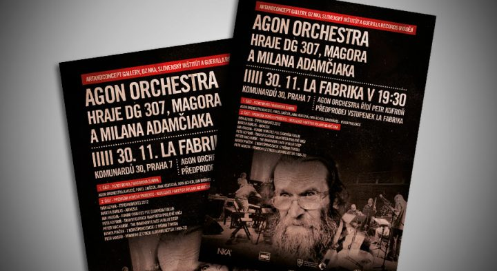"Poster ""Agon orchestra"""